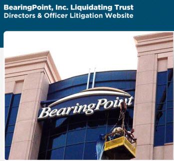 Bearingpoint inc. liquidating trust